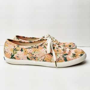 Keds X Rifle Paper Champion Sneaker Meadow Floral